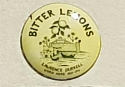 BITTER LEMONS SIGN